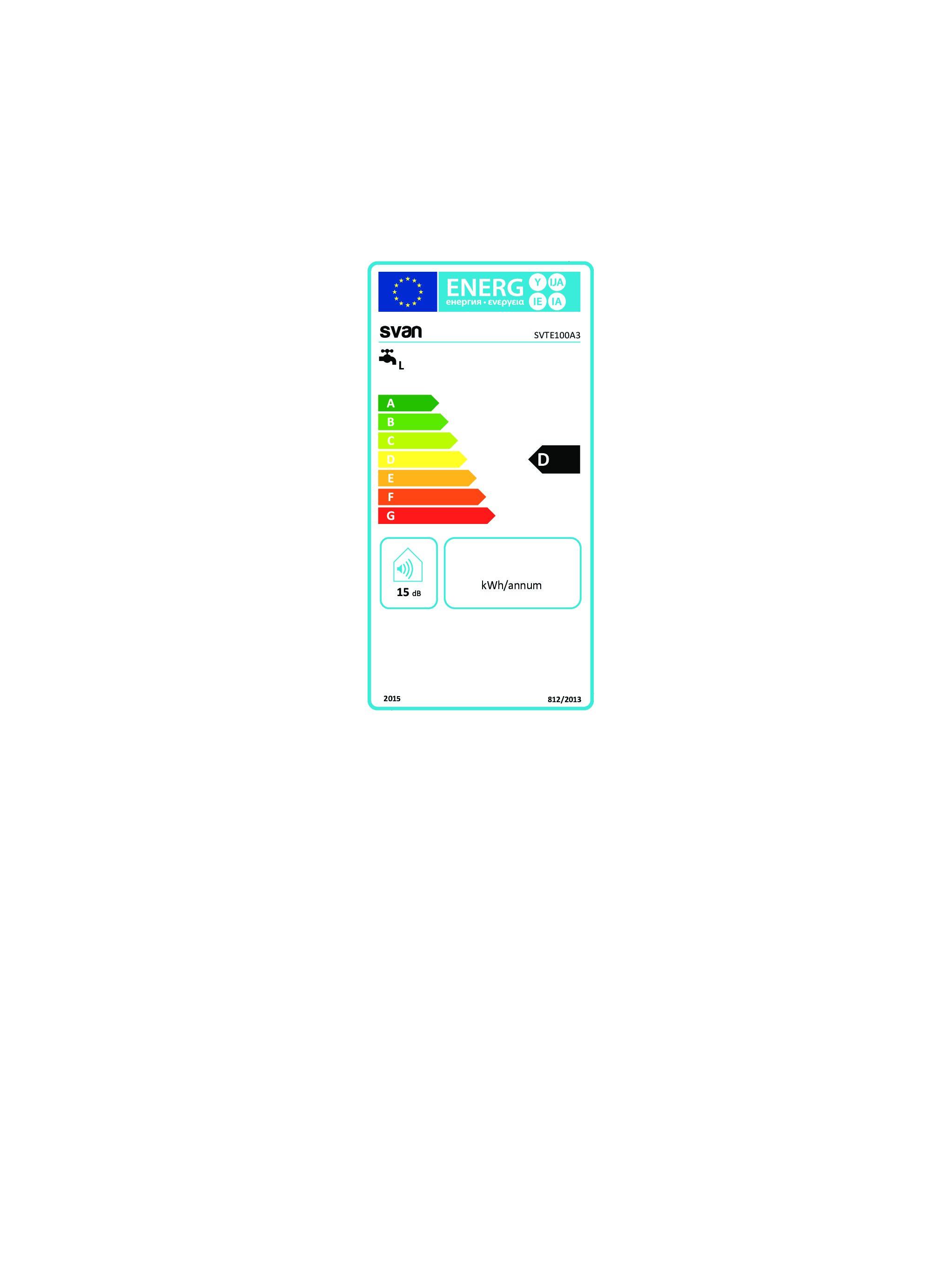 SVTE100A3-CLASIFICACIÓN-ENERGÉTICA